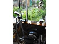 Cross trainer for sale. Hardly used.