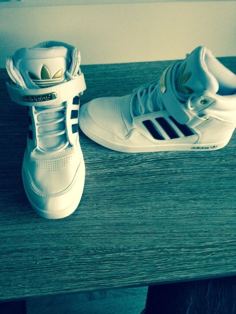 High Top Trainers- Adidas - Mens