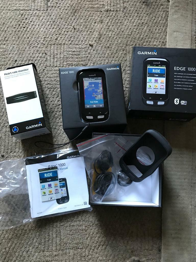 Garmin Edge 1000 cycle gps boxed as new with accessories trek | in  Enniskillen, County Fermanagh | Gumtree