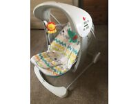 Fisher-Price Colourful Take-Along Swing and Seat