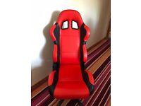 Paddock pit chair