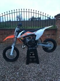 KTM SX 50 2017 motocross bike