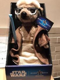 Sergei as OBI-WAN KENOBI - Compare the Meerkat Official Plush Toy