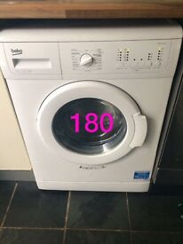 *reduced* beko white washing machine