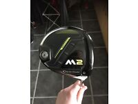 Taylormade m2 2017 driver with headcover and wrench