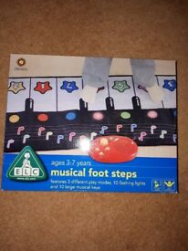 ELC brand new unopened cost £35 Musical Footsteps Play Mat