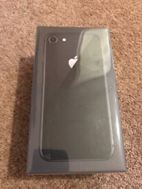 Brand New IPhone 8 Space Grey unlocked