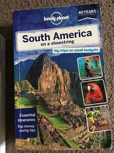 South America On a Shoestring Lonely Planet Crows Nest North Sydney Area Preview