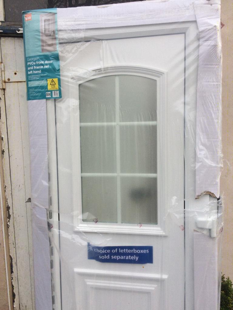 New Pvcu Front Door And Frame Set Bq Original Price 273 So