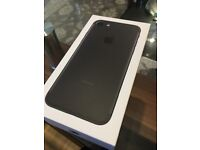 Apple iPhone 7 32gb Matte black - brand new never used