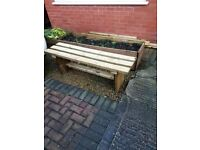 1200mm TIMBER BENCH - brand new / delivered / oiled - ANY LOCATION