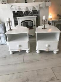 Beautiful beside tables £45 pair