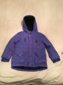 Boys John Rocha Winter Coat Age 3-4