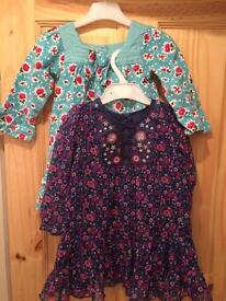 Two 12-18 month dresses