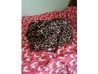 Leopard Print Bag/Suitcase