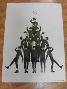 EXO-MIRACLES-IN-DECEMBER-KOREAN-VER-ORIGINAL-POSTER-NEW-K-POP-EXO-K-EXO-M