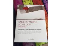 Understanding scots law 2nd edition