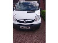 Vauxhall vivaro 2.0 2700 115ps cdti swb 60 reg