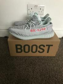 Yeezys boost v350 blue tint 8UK £240.00 or nearest offer