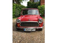 Rover Mini 1.3 2dr 20500 miles; Some body work needed and would benefit from re-spray.