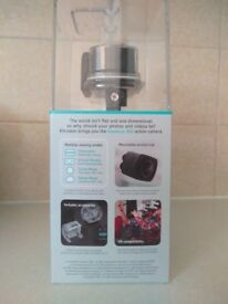 360° action camera , HD video, 1080p, 220° field of view, Virtual Reality, wi-fi, waterproof to 30m