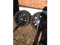 4 x 19 inch 9 spoke 5x 112 Audi/vw alloy wheels