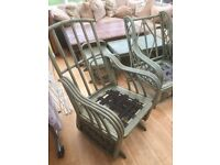 Patio / conservatory furniture, 6 piece set