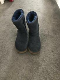 Ugg boots navy size 5.5