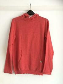 New/ Unworn Boys Federation orange knit long slv top age 14