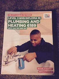 Book plumbing and heating level 3 NVQ 6189