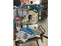 Makita LS1013 Compound Chop Saw 240 volts used condition with spare blade priced to sell