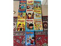 Beano annuals 1990-1999