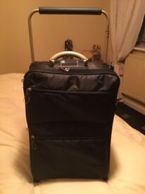 Cabin Size- Black-2 Wheeled-Suit Case-Used Once-Only £12