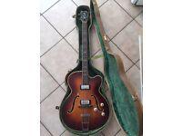 1960s hofner president bass guitar