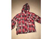 Boys ski jacket / coat age 7-8 mountain warehouse
