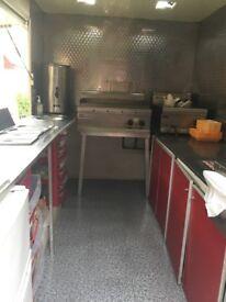 Kebab trailer