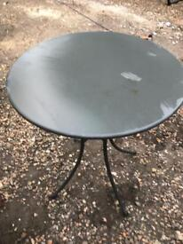 Used Garden Bistro table