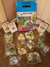 Little Miss and Mr Men 10 Set Jigsaw Set and Four DVDs