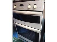 Belling built in electric fan oven with grill.