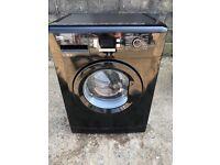 Beko WMB71543B 7kg 1500 Spin Washing Machine in Black #4834