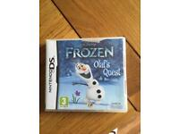 Frozen DS game