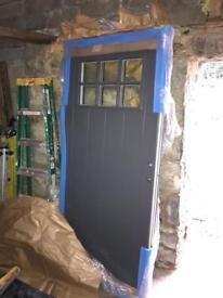 Rational composite front door