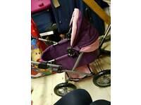 Children's play pushchair