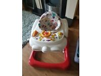 Fisher price bouncer & Graco baby walker