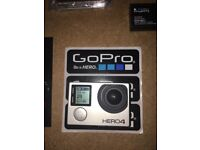 GoPro Hero 4 Black 4x Batteries & Accessories
