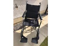 Lightweight wheelchair bought for £119 Hardly used