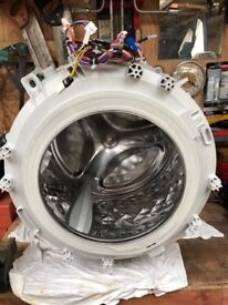 Panasonic NA-168VG4 8kg Drum complete with new bearings and seal and new drum seal, refurbished.