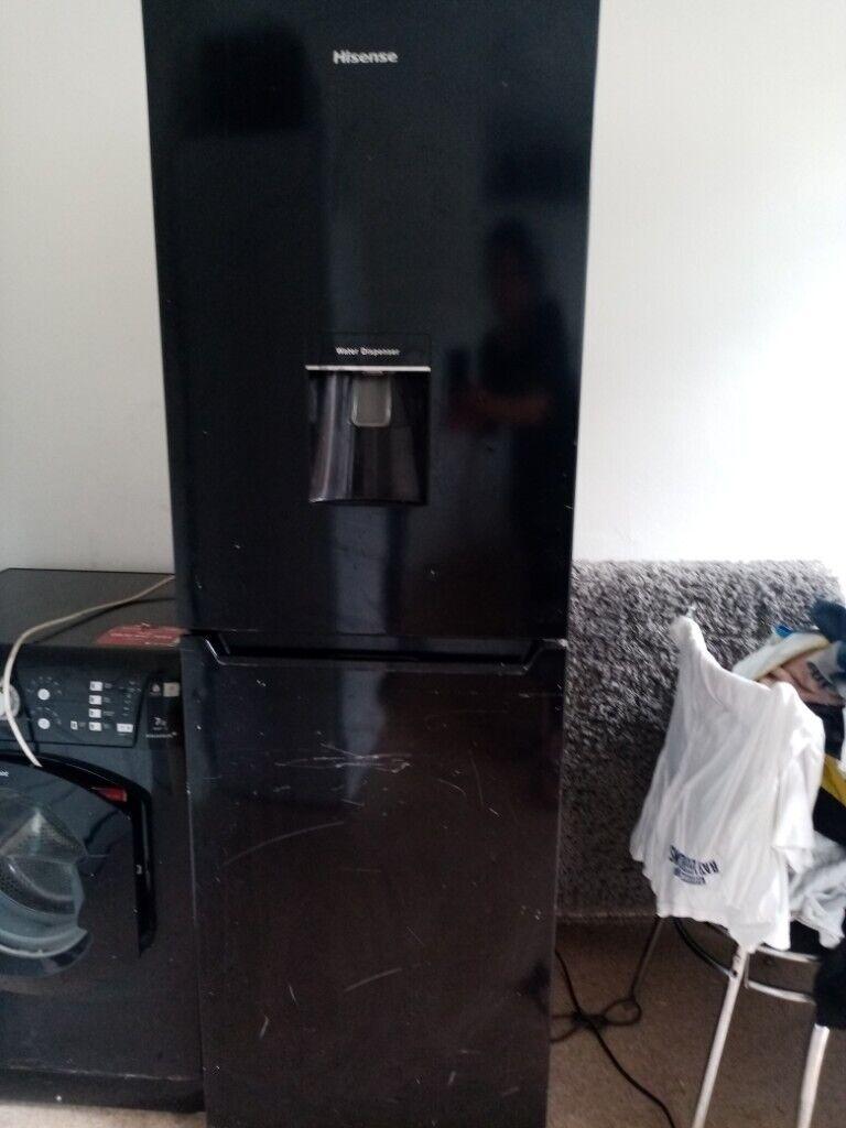 Black hisense Fridge freezer with water dispenser   in Aspley,  Nottinghamshire   Gumtree