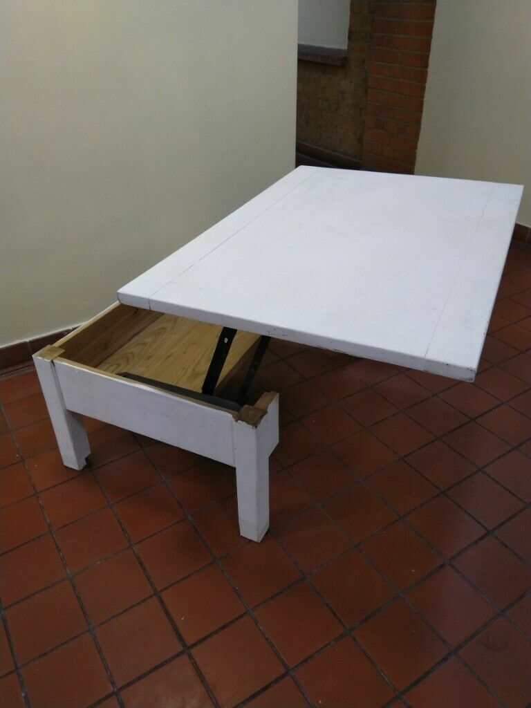 Rise Up Coffee Table Desk Or Dining Table Central London Bargain In