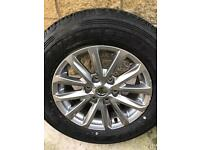 Mitsubishi L200 alloy wheel 2016